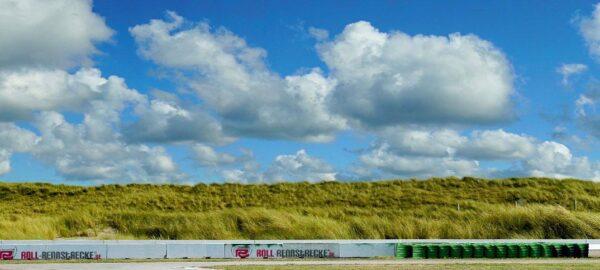 Roll Rennstrecke Panorama Düne | Rechts | DRIFT Deko