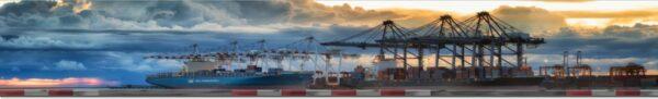 Roll Rennstrecke Panorama Hafen | Gesamt | DRIFT Deko