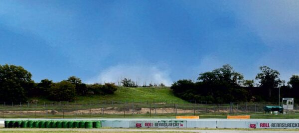 Roll Rennstrecke Panorama Strecke | Links | DRIFT Deko
