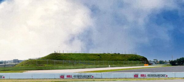 Roll Rennstrecke Panorama Strecke | Rechts | DRIFT Deko