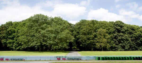 Roll Rennstrecke Panorama Wald | Rechts | DRIFT Deko