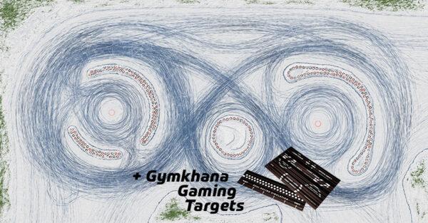 Drift Rennstrecke Racetrack Ice-Land inkl. Gymkhana Gaming Targets | Sturmkind